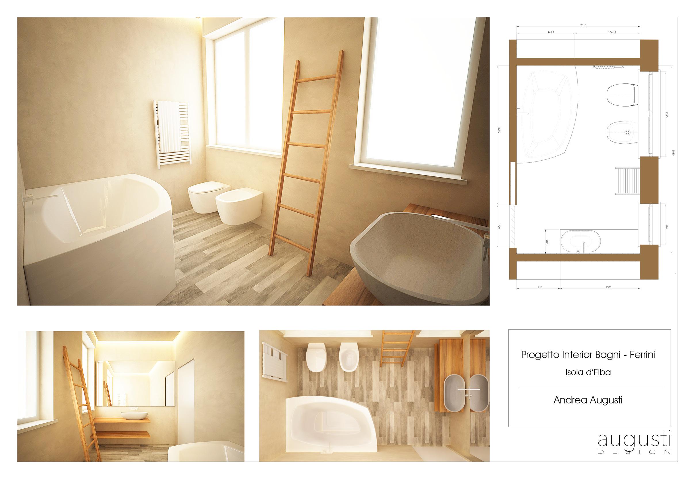 Progetto interior Bagni – Ferrini