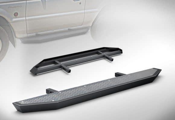 Sidestep – Mitsubishi Pajero